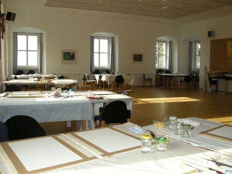 Malsaal in Windberg